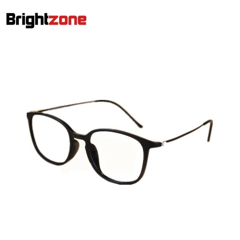 9b5c5189ac 2018 Fashion Women Super Big Geek Glasses Frame Tungsten Carbon Steel  Eyewear Men Vintage Ultra Thin Arm Nerd Myopia Eyeglasses