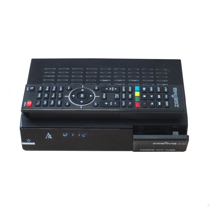 5pcs Zgemma Star H.2S Satellite receiver Two DVB-S2 Tuner built-in enigma 2 linux OS Zgemma-star H.2S Full HD satellite receiver цены онлайн