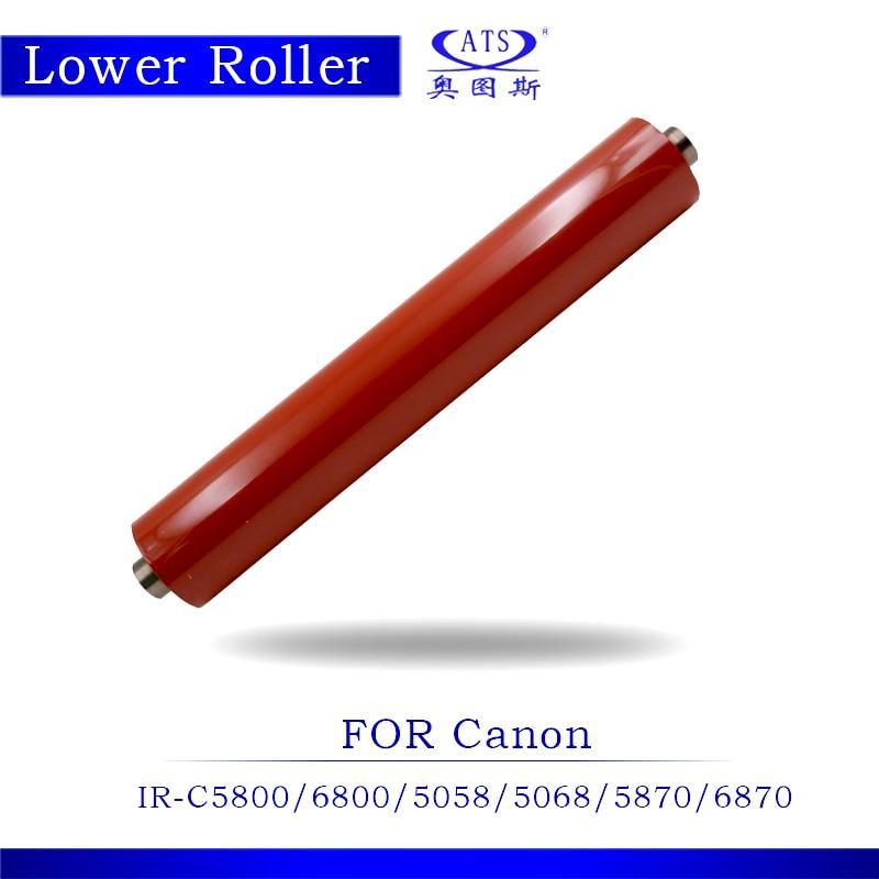 1PCS IRC5800 IRC6800 IRC5058 Lower Fuser Pressure Roller For IR C5800 C6800 C5058 C5068 C5870 C6870 Copier Spare Parts 5 sets irc6800 pickup roller for canon irc 5800 5870 6800 pick up roller fc5 2526 000 fc5 2524 000 fc5 2528 irc5870 irc5800
