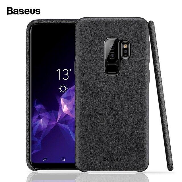 san francisco d9956 367d6 US $6.92 50% OFF|Baseus Luxury Case For Samsung Galaxy S9 S9 Plus Retro  Fabric & PC & Aluminum Capinhas For Galaxy S9 S9+ Shell Coque Fundas  Capa-in ...