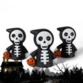 Free Shipping Halloween  Monster Gost Voice Led Key Chain Novelty Promotional Gifts Led Chain Wholesale Gifts