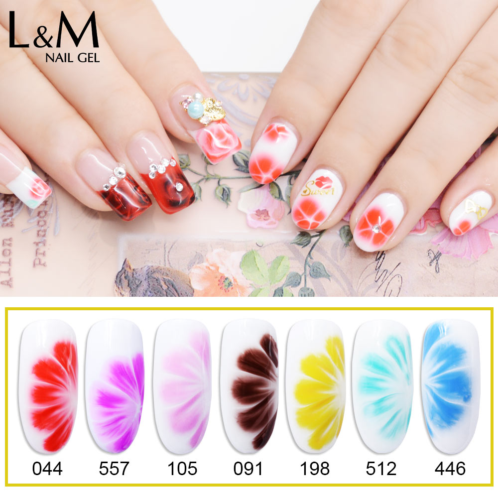 Aliexpress buy 2 pcs flower diy beauty blossom gel polish soak aliexpress buy 2 pcs flower diy beauty blossom gel polish soak off 10ml uv gel nail varnish pure color gel nail art from reliable gel nail art izmirmasajfo