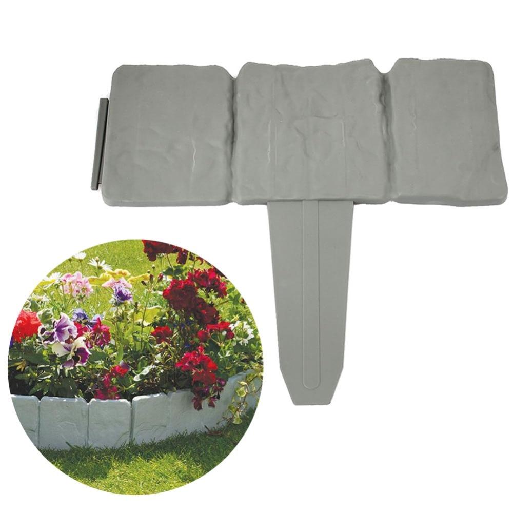 Garden Decorations Pebbles Jardin Fencing Decorating Stones Gardening Parterre Brick Wal ...