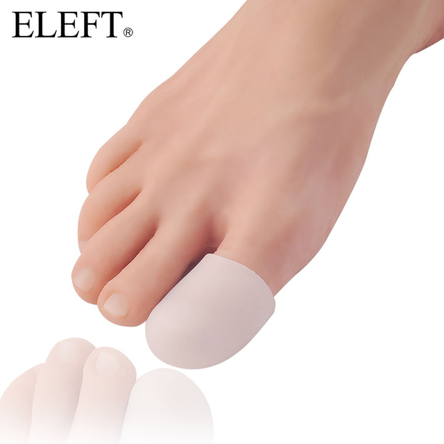 ELEFT 2 Piece Silicone Toe Protectors foot care shoes accessories Silicone Shoe Pad Orthopedic arch supports Gel insoles Unisex
