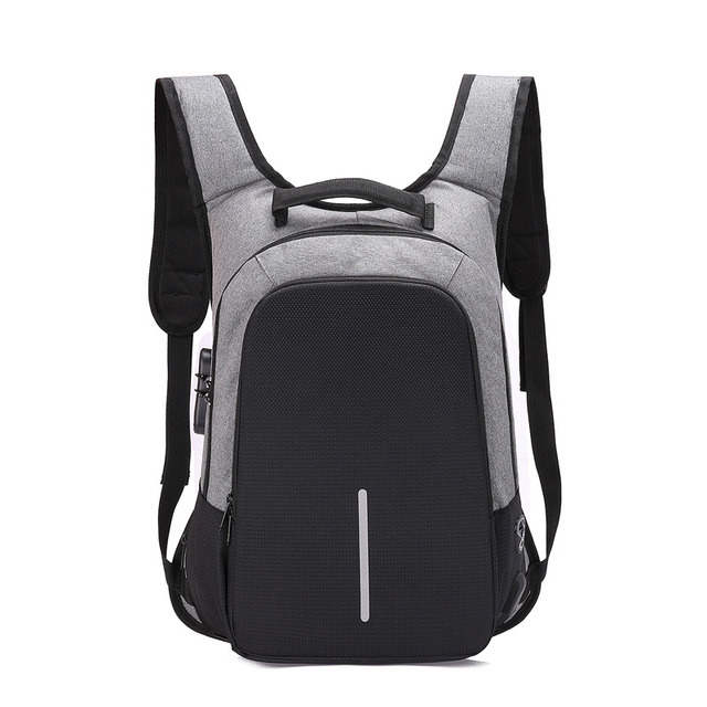 Backpacks Men Multifunction USB Charging 15.6inch Laptop Backpacks For Teenagers Travel Backpack Anti Thief Fashion Male Mochila