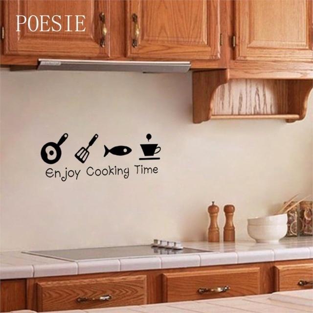 2015 Vendita Calda Godetevi Tempo di Cottura Creativo cucina Piastrella  adesivi Murali cucina Decalcomanie Della Parete Per La cucina in 2015  Vendita ...