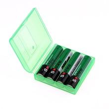 8pcs 4pcs/pack Soshine Ni-MH AAA Battery 1100mAh 3A Batteries Rechargeable Bateria +Portable Battery Storage Holder Case Box