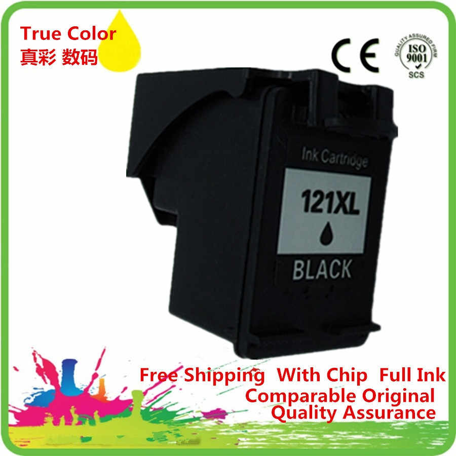 Ink Cartridge Ulang untuk 121 XL HP121 HP121XL 121XL CC641HE Deskjet F2430 F2476 F2480 F2488 F2492 Inkjet Printer