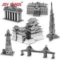 ALEGRÍA REVISTAS 3D Metal Modelo Del edificio famoso Arquitecto en todo el mundo