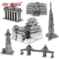 JOY MAGS 3D Metal Model The famous building Architect all over the world