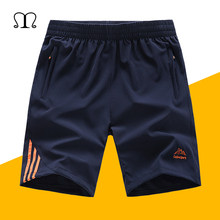 2019 Summer Board Shorts Mens Quickly Dry Plaid Beach Shorts Men Exercise Slim Fit Solid Bermudas Masculina Plus Size Swimshorts(China)