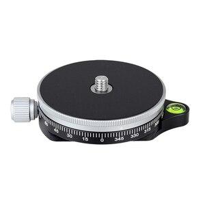 Image 3 - XILETU TPC 60 360 درجة ترايبود رئيس بانورامي المشبك الألومنيوم محول احادية سريعة الإصدار بلايت أركا السويسرية للكاميرا DSLR