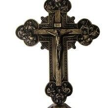 12 апертов крест инри перстень из нержавеющей стали Эммануэль с изображением католической святыни орнамент хесу распятие ягненок Божий Настенный декор около 32,5 см