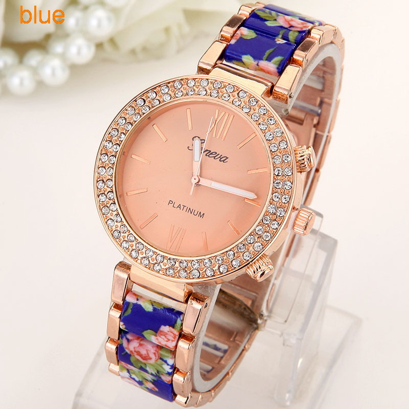 Flowers Women Watch  (4)