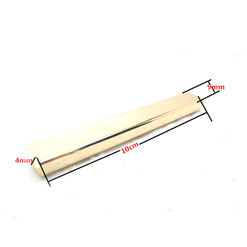 3.2 inch (8 cm ) straight Purse edging Wallet frame wallet edging Metal Edging strip Light Gold 4 inch 6 inch straight cup diamond grinding wheel for glass edger straight line double edging beveling machine m009