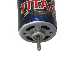 Image 5 - Mxfans RC Vehicle 550 Electric Brushed Motor 3975 3975R 3mm Output Shaft 21T 16.8V for Traxxas Titan Replacement Parts