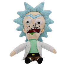 20-30cm 16 Styles Rick and Morty Plush Toys Mr Meeseeks Rick Committee Set Beth Smith Sute Doll Anime Stuffed Drop Shipping