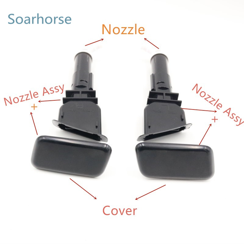 For Mitsubishi ASX Headlight Washer cover cap
