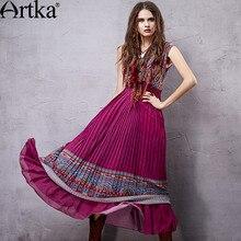 Drappeggiato Dress Etnico Di