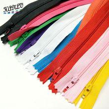 5PCS/10PCS  23.5CM Colorful 3 # End Closed Nylon Bobbin Zippers Tailor Sewing Craft
