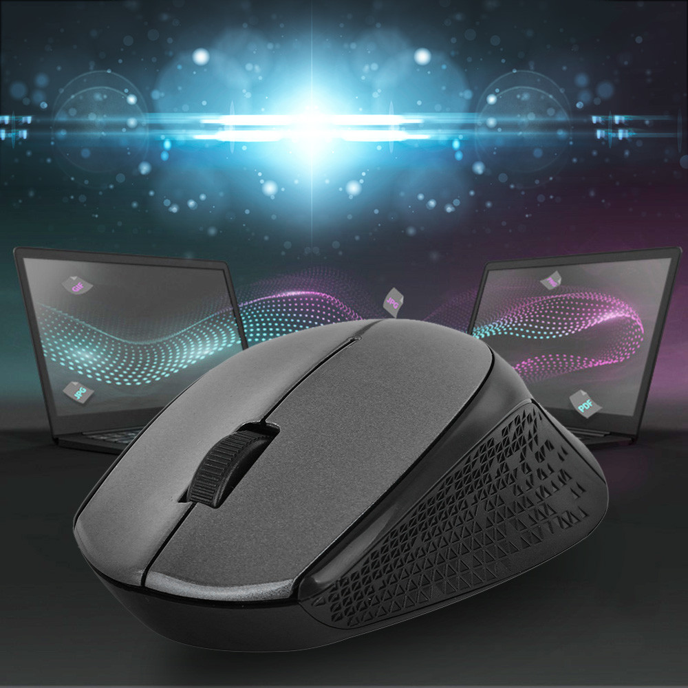 US 2.4GHz Cordless Wireless Optical Mouse//Mice USB 2.0 Receiver for PC Laptop