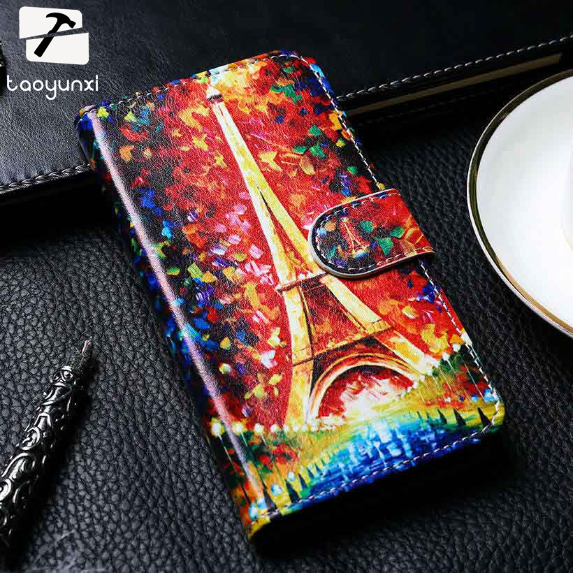TAOYUNXI PU Leather Phone Cover For Huawei Ascend G7/G510/G520/G620/G700/G730 Cases Anti-K