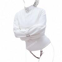 Blanc en cuir Bondage retient amulette de sexe esclave bdsm bondage de retenue du corps adulte jeux sexo produits pour femmes