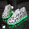 2017 Fashion Casual Women Led Shoes High Quality Led Shoes For Adults  USB Charging Hot Sale Light Shoes