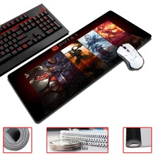 MaiYaCa Gaming Mouse Pads The Dota 2  Ultimate Natural Rubber Gamer 30×60/70/80/90cm Size Game Computer Desk Pad
