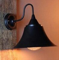 Восстановление древних способов кованого железа бра старинные бра Эдисон настенный светильник содержит EDISON ЛАМПЫ Бесплатная доставка