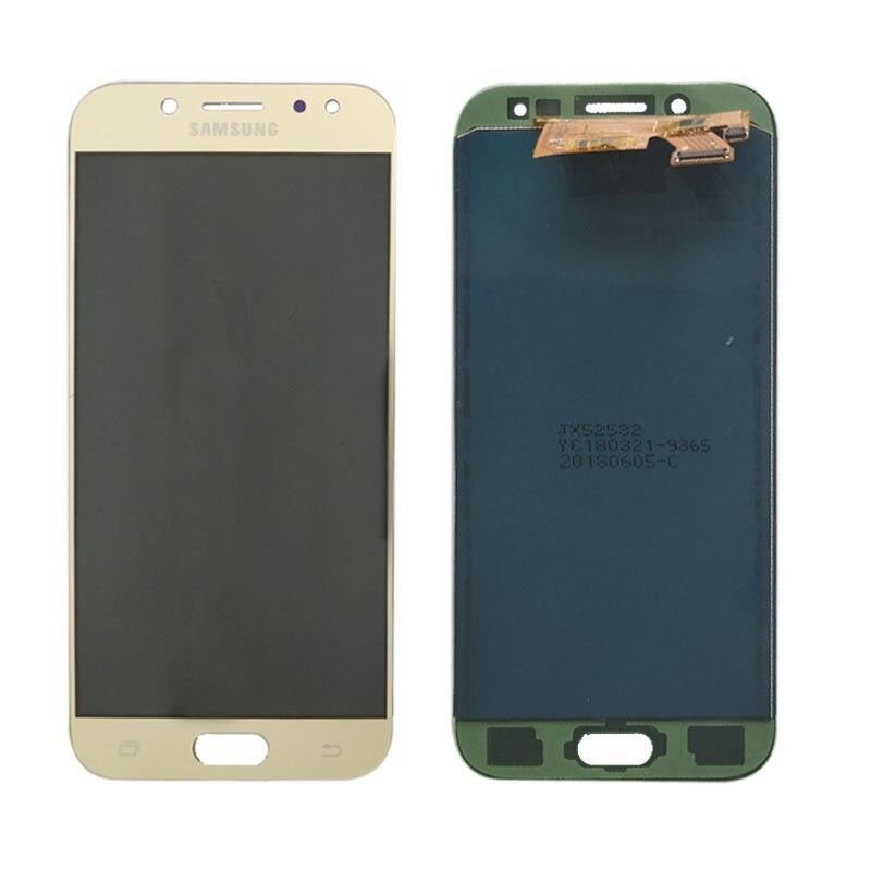 J530 LCD para Samsung Galaxy J5 2017 J530 J530F pantalla LCD digitalizador de pantalla táctil lcd de montaje J5 Pro 2017 J5 Duos no ajustar