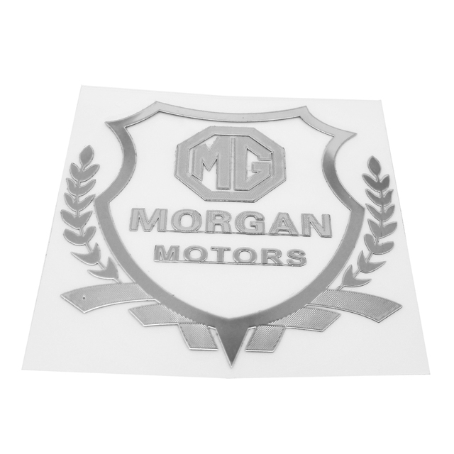 Auto Styling Car Plastic Stickers Mg Morgan Emblem Badge Decal For