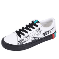 Female Student Wild Canvas Shoes Female Korean Version Of Harajuku Ulzzang Street Shot Small Black Shoes Flat Bottom Shoes