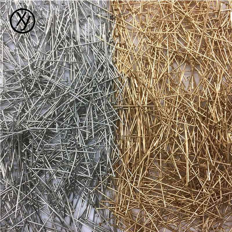 Commodity Wholesale DIY 100pcs/Lot 20/24/30/35mm Cheap New Hot Style Beads Metal Accessories Nail Suitable For Everyday Life Use