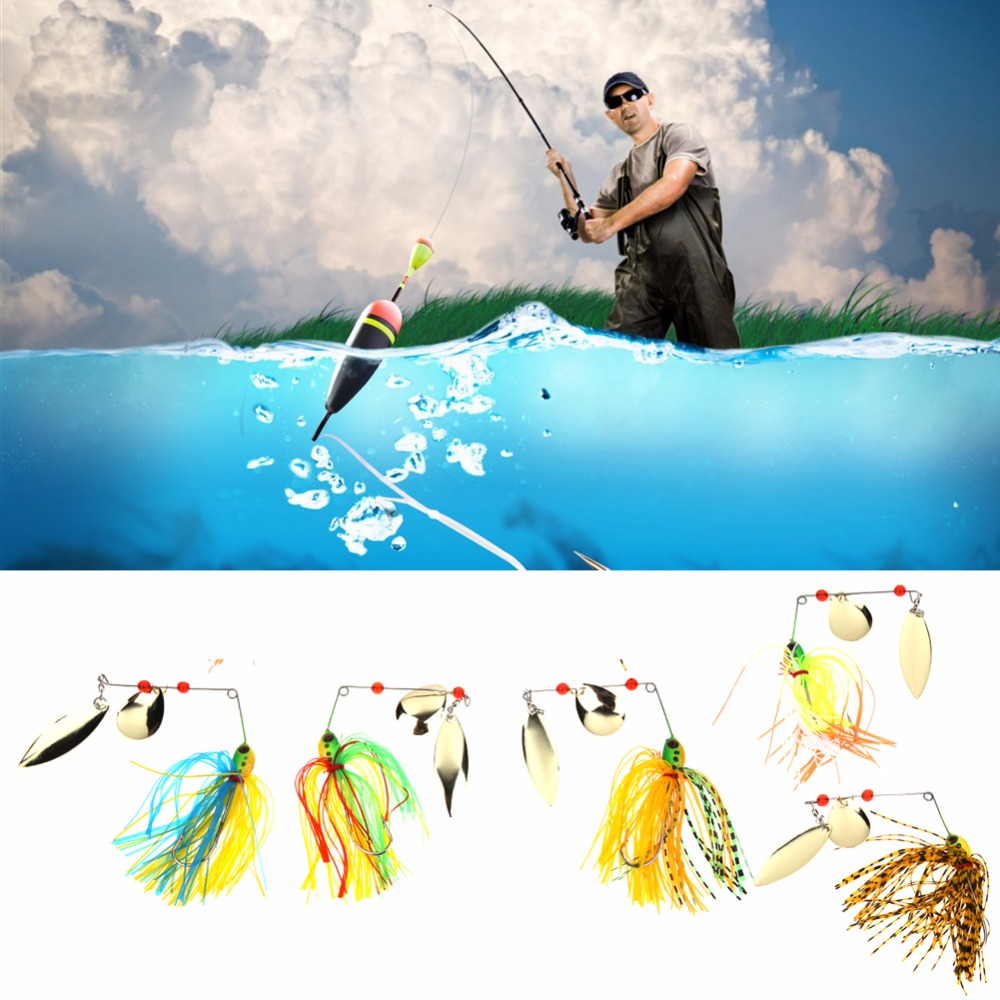 5pcs/Lot Colorful Spinner bait 17.4g Fishing Lures Bass CrankBait Tackle wobbler Hard Spinner Lures Crank Hook wldslure 1pc 54g minnow sea fishing crankbait bass hard bait tuna lures wobbler trolling lure treble hook