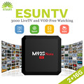1 Year IPTV included M92S NOTE S912 Android 6.0 TV Box 2/16G Spain UK Germany Italy Netherland Sweden Portugal EX-YU xxx US
