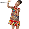 New Arrival Amazing Colorful Vintage Embroidered Dress 160112LU03