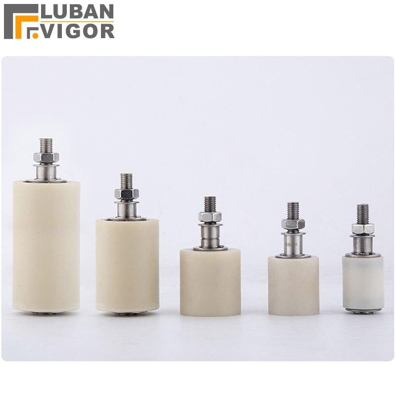 304 edelstahl nylon riemenscheibe/caster, schiebetür Clip, Guide/laufrad, mit lager, stabil, langlebig, Industrielle Hardware
