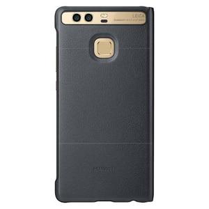 Image 5 - Huawei 社オリジナルスマート電話ケースビューカバー huawei 社 P9 ハウジングスリープ機能インテリジェント電話ケース