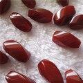 10 * 20 мм твист ромб форма красный агат природа сардоникс камень бусины DIY изготовление ювелирных аксессуаров 10 шт.