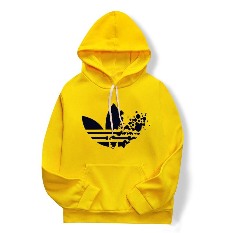 2019 New Yellow Gray Fashion Hoodie Hip Hop Street Wear Sweatshirt Skateboarder/jumper For Men/women Firm In Structure Red
