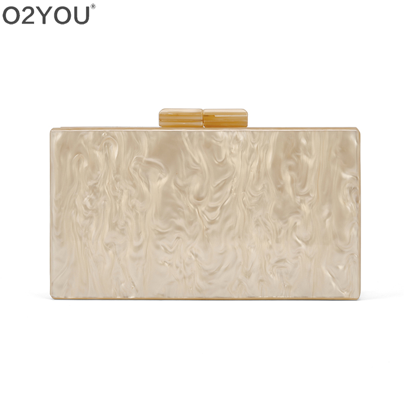Nude Pearl Acrylic Clasp Mirror Inside Lady Travel Beach Summer Women Day Clutches Solid Acrylic Purse Handbags Acrylic Bags