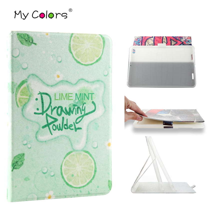 Mi Pad 2 3 PU Leather Slim 7 9 Print Smart Tablet Cover Case For Xiaomi