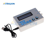 1HZ 65534HZ Signal Generator Module DC 9V 1602 LCD Display Digital DDS Function Sine + Triangle + Square Wave + USB Cable