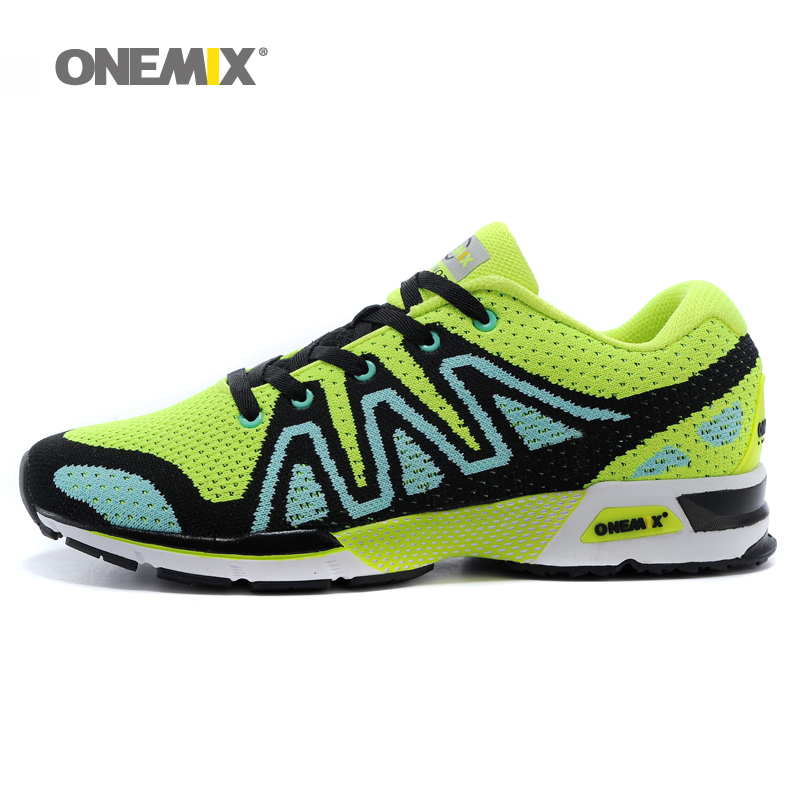Onemix mens running shoes breathable outdoor women walking shoes masage male sport sneakers light jogging shoes kelme 2016 new children sport running shoes football boots synthetic leather broken nail kids skid wearable shoes breathable 49