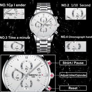 Image 2 - NIBOSI Uhr Männer Wasserdicht Casual Luxury Marke Quarz Militär Sport Uhr Business Uhr männer Armbanduhren Relogio Masculino