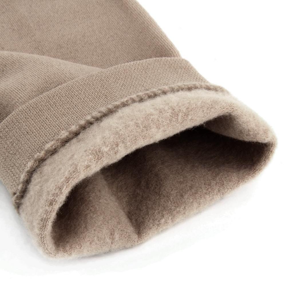 Casual Warm Faux Velvet Winter leggins Women Leggings Knitted Thick Slim Super Elastic women pants 1