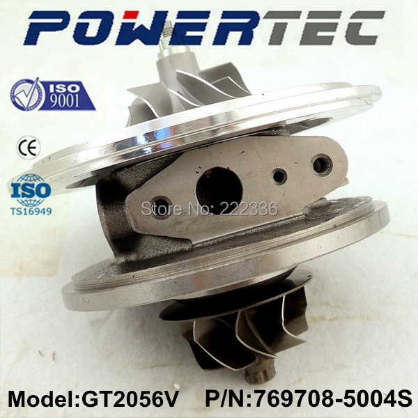 Garrett turbo GT2056V 769708-5004S  turbo cartridge 14411EC00B turbo chra for Nissan Pathfinder 2.5 DI free ship turbo for nissan terrano ii pathfinder 01 05 td27ti 2 7l gt2052s 722687 14411 7f411 722687 5001s turbocharger gaskets