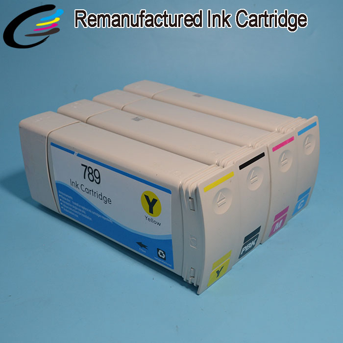 Recycled Genuine Original Ink Cartridges for HP 789 Latex Ink Cartridge 775ML for Designjet L25500 соковыжималка supra jes 1029 40 вт пластик чёрный серебристый