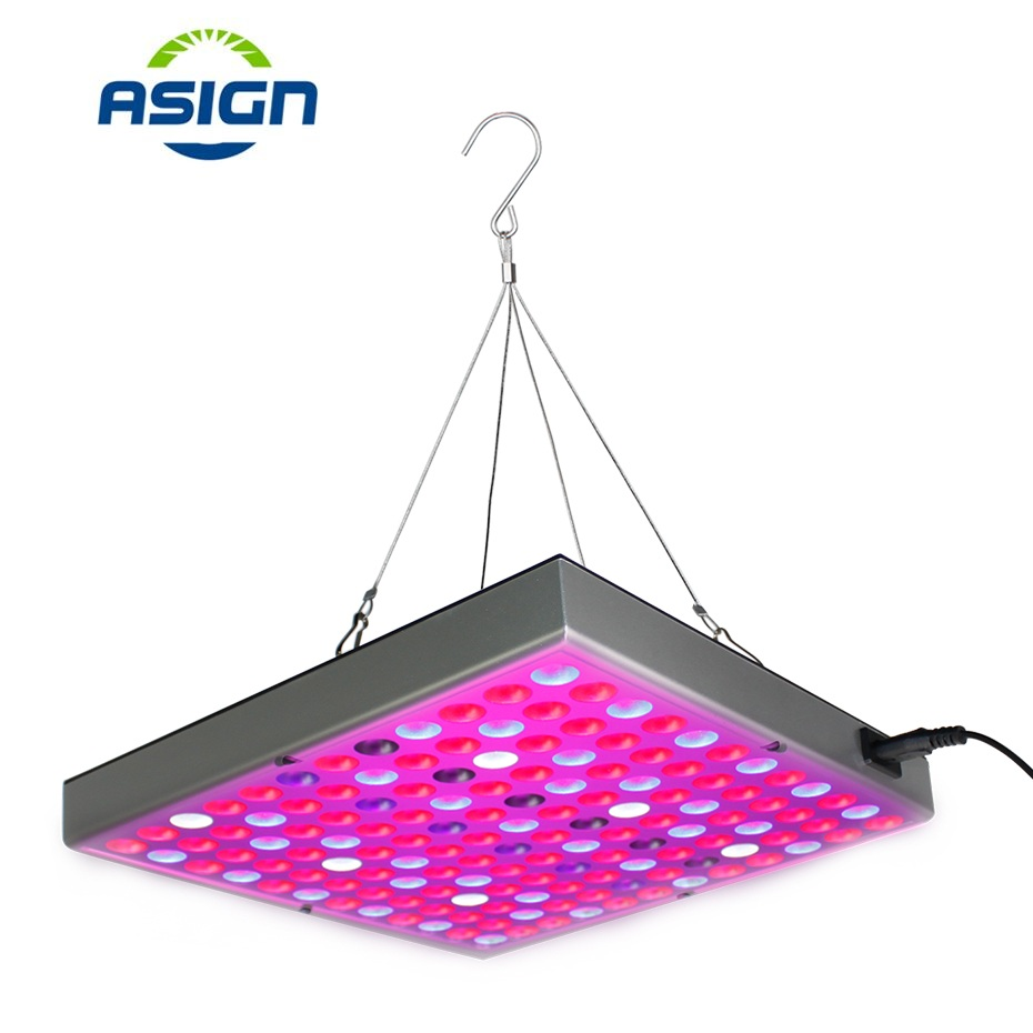 Lamp For Plants 110V 220V 25W 45W Led Grow Light Full Spectrum Fitolampy Phyto Lamp 1500Lm Hanging Flat Plant Grow Light Panel